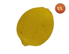 Lemon - Real-Time Scanned 3D asset