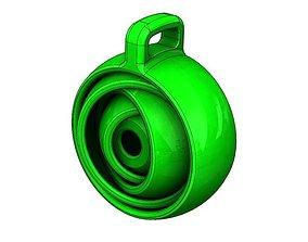 3D print model Gyroscopic Keychain gadget