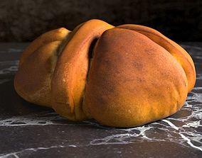 Sweet Easter Bread 3D model