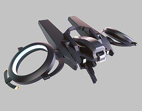 sky 3D model Falcon Drone