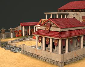 Romans Training Camp 3D model