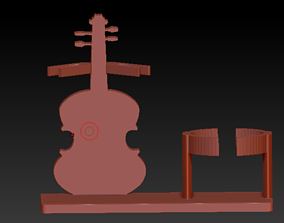 3D printable model Wine support