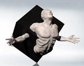 Sculpture - The Struggle of Creation 3D model
