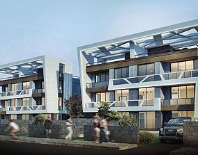 TWA Villa Design 02 3D asset