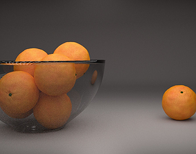 3D Realistic Orange