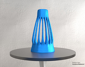 Modern Vase Fine Mouth 3D printable model