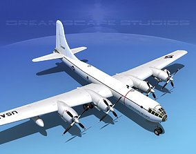 Boeing RB-50 Superfortress II 3D model