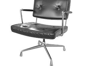 3D model Eames Intermediate chair for Herman Miller