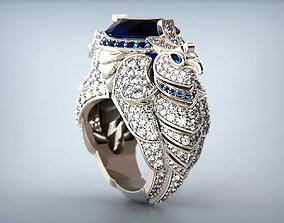 3D print model Boucheron Eagle Ring replica