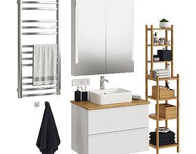 Ikea Godmorgon set 5 3D model