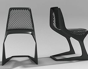 Myto Chair Plank 3D model