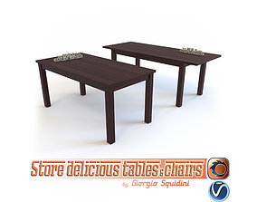 Table ERNEST by Halmar 3D asset