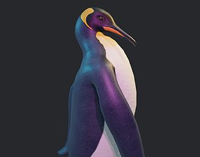 Emperor Penguin 3D asset animated