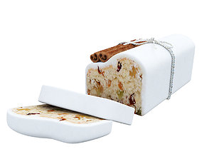 3D Raisin loaf cake