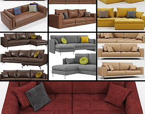 Calligaris sofas collection 3D