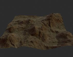 3D asset SPACE LAND HIGH QUALITY GAME READY