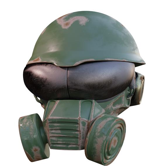 Former War Helmet