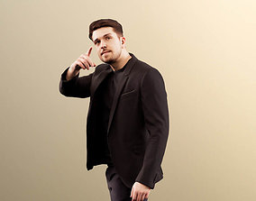 3D model Kilian 11590 - Businessman on the phone