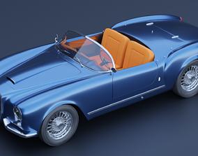 Lancia Aurelia B24s 3D asset