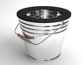 Bucket contains 3D