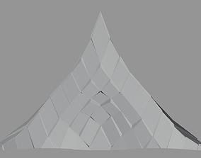 Peak Structure 3rd Version 3D asset realtime