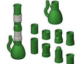 Modular Water Pipe 3D print model
