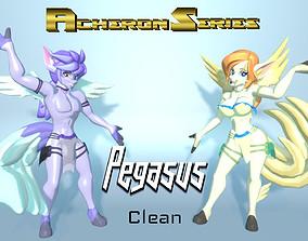 Acheron Pegasus Clean 3D asset