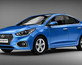 3D Hyundai Accent