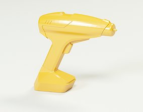 3D model Cordless drill concept or a sci-fi laser gun