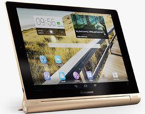 Lenovo Yoga Tablet 10 HD Golden 3D asset