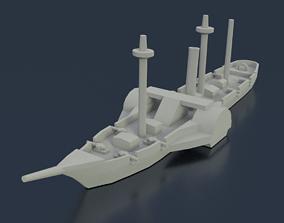 Paraguayan Steam Marques de Olinda 3D printable model