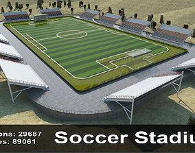 Stadium In Sands 3D asset realtime