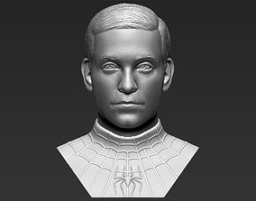 Spider-Man Tobey Maguire bust 3D printing ready stl obj