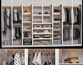 Wardrobe wall 3D model