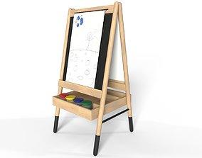 3D model Chalkboard for kids room