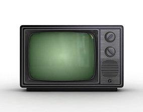 3D old Old TV