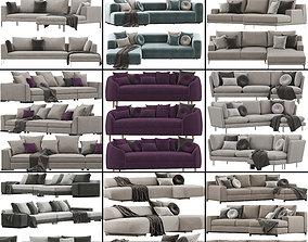 3D model Sofa set 8