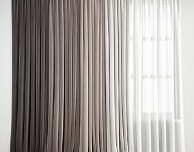 3D Curtain 158