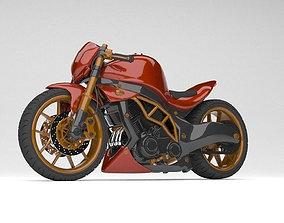 Naked Motor Bike 1000cc Modified Kawasaki modelling 3d 1