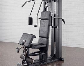 3D Gym equipment 09 am169
