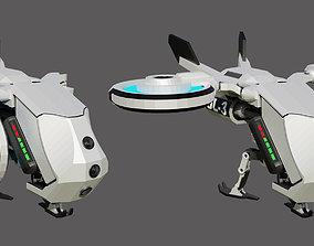 Sci-Fi Dron 3D model