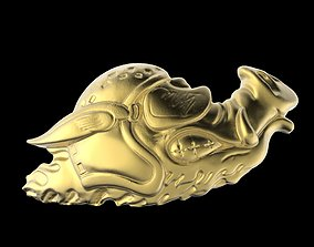 3D printable model Biker Pig Logo