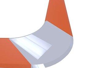 boomerang 3D model realtime