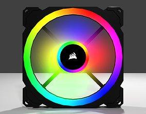 CORSAIR LL RGB FAN 3D asset