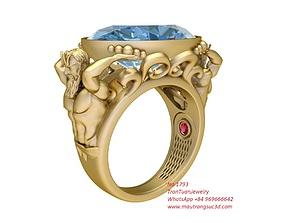 3D print model 1793 Neptune Ring