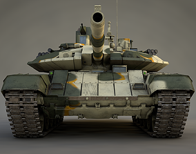 MBT T-90 AM 3D model