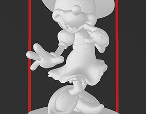 Minnie Mouse - Halloween Witch Costume - 3D PRINT MODEL