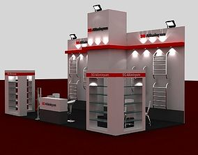 3D SG Exhibition Stand