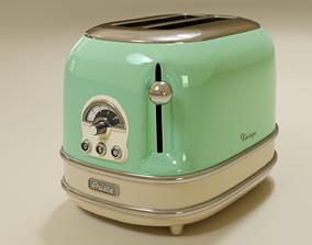 3D Ariete Vintage Toaster