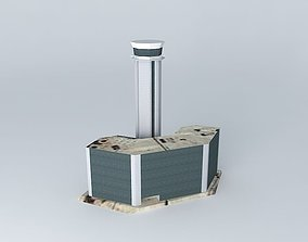 Tower airport 3D